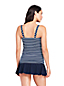 Women's Beach Living Scoop Neck Stripe Tankini Top