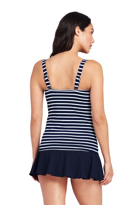 Women's A-Cup Scoopneck Tankini Top