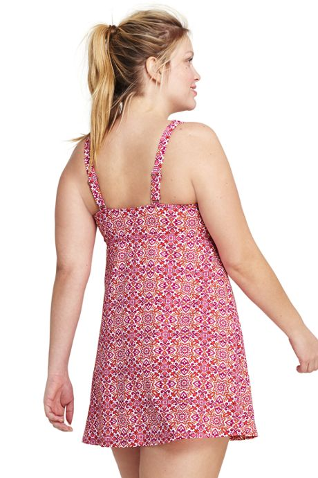 Women's Plus Size Squareneck Dresskini Top