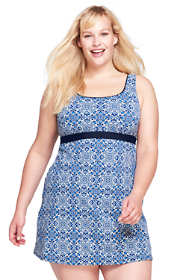Women's Plus Size DDD-Cup Squareneck Dresskini Top