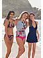 Le Haut de Bikini Twisté Imprimé, Femme Stature Standard