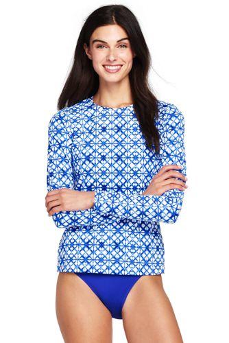 Le T-Shirt de Bain Imprimé, Femme Stature Standard
