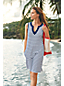 Women's Sleeveless Cotton Beach Cover-up