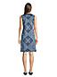 Robe de Plage Sans Manches à Motifs, Femme Stature Standard
