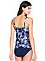 Women's Shape & Enhance Split Front Rose Floral Tankini Top