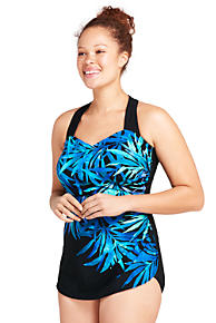 797997e185 Women s Slender Tunic One Piece Swimsuit with Tummy Control