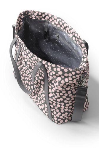 Carryall Print Tote Diaper Bag