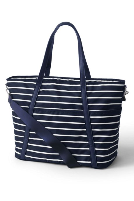 Carryall Print Tote Diaper Bag