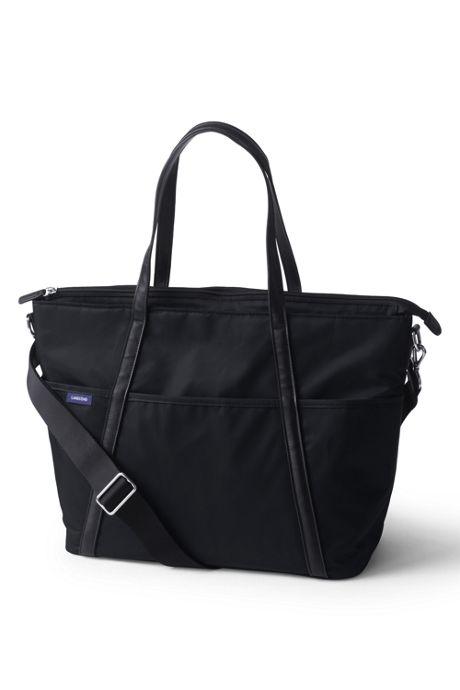 Carryall Solid Tote Diaper Bag