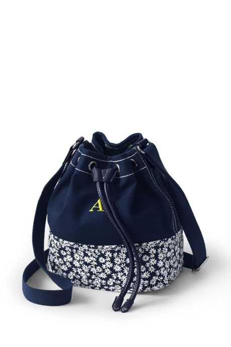 Women's Canvas Bucket Bag