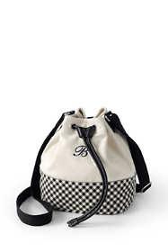 Women's Canvas Bucket Bag