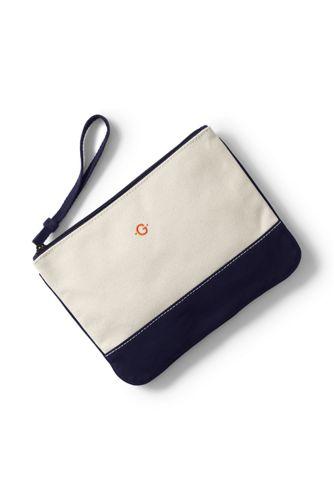 Medium Canvas Clutch Bag