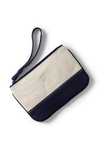 Small Canvas Clutch Bag