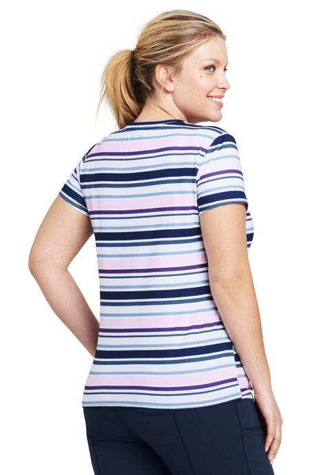 Women's Plus Size Active Short Sleeve T-shirt