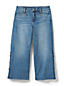 Women's Cropped Jeans – Mid Rise, Wide Leg