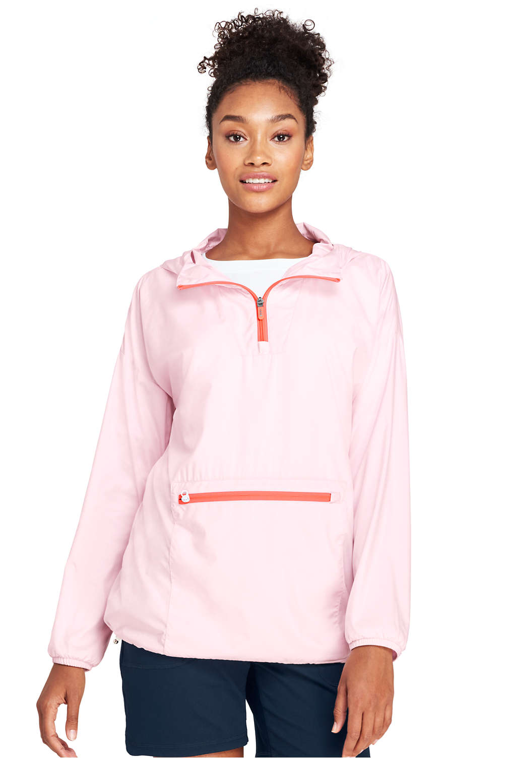 a97566299031 Women s Active Half Zip Pullover Jacket from Lands  End