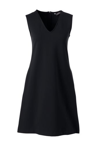 Women's Ponte Jersey Straight Shift Dress