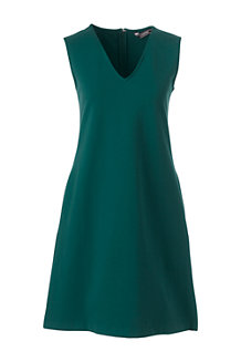Women's Ponte Jersey Straight Shift Dress