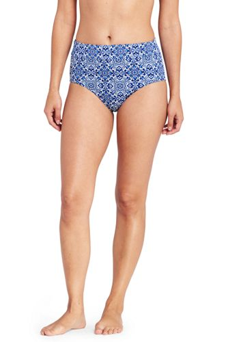 Le Bas de Bikini Gainant Taille Haute Majolica, Femme Stature Standard
