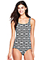 Women's Knot Print Tugless Swimsuit