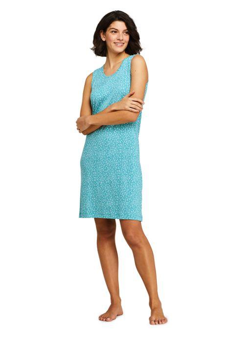 Women's Knee Length Tank Nightgown