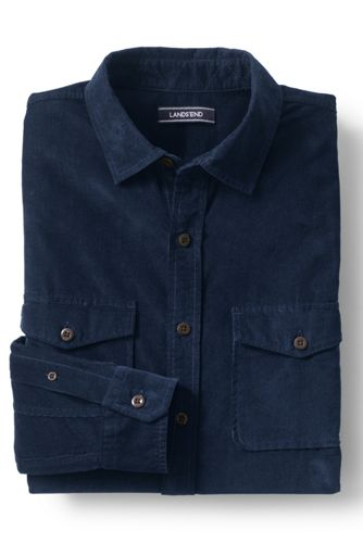 Men's Cord Work Shirt