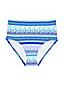 Le Bas de Bikini Gainant Taille Haute Bombay, Femme Stature Standard