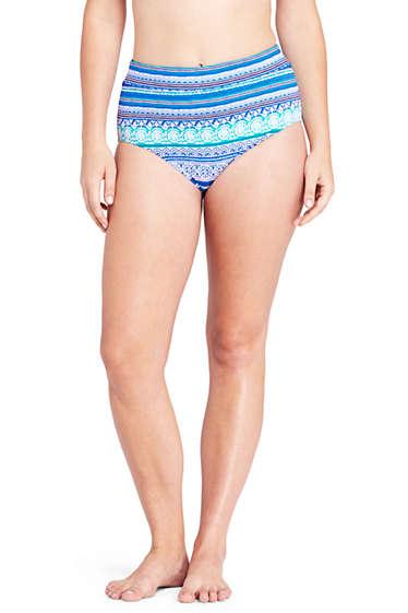 0c357103ca574 Women's High Waisted Bikini Bottoms from Lands' End