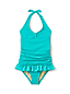 Little Girls' Frilled Swimsuit