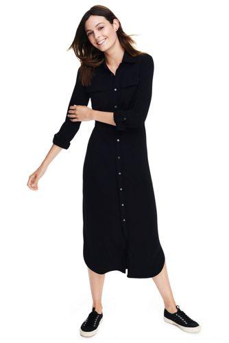 Women's Work 2 Weekend Matte Jersey Shirtdress