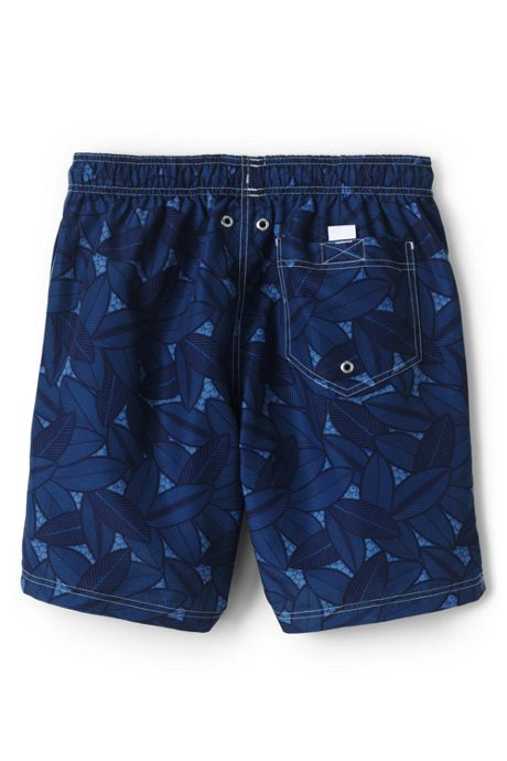 Men's Big & Tall 8 Inch Print Volley Swim Trunks