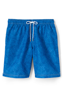 Men's 8-inch Patterned Swim Shorts