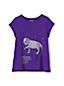 Le T-Shirt Graphique Manches Courtes, Petite Fille