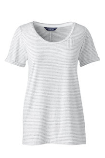 Women's Modal Jersey Striped Top