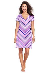80687b63f083f Women s Notch Neck Swim Cover-up Dress · uick View. Deep Sea Purple Bombay  Mix