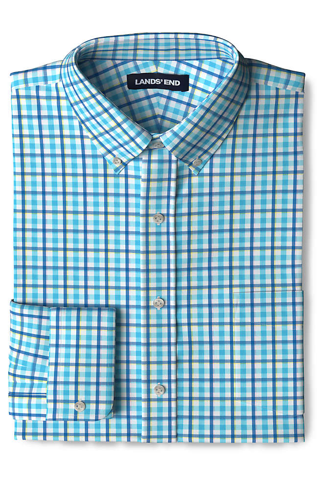 Men's Tailored Fit Comfort-First Shirt with Coolmax, Front