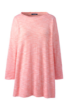 Le Pull Long Ample Manches 3/4, Femme
