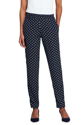 Women's Petite Drapey Jogger Pants