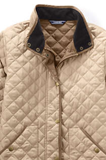 Women's Tall Quilted Barn Insulated Jacket, alternative image