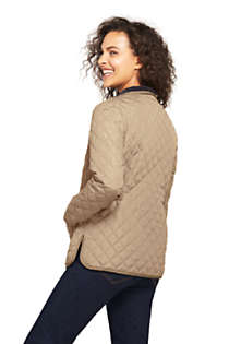 Women's Tall Quilted Barn Insulated Jacket, Back
