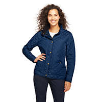 Deals on Lands End Womens Quilted Barn Insulated Jacket