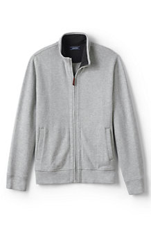 Men's Brushed Rib Zip Jacket