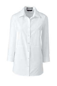 Women's Plus Size 3/4 Sleeve Sophie Pieced Broadcloth Shirt