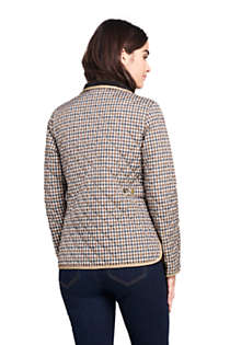 Women's Print Quilted Barn Insulated Jacket, Back
