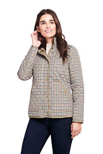 Women's Print Quilted Barn Insulated Jacket, Front