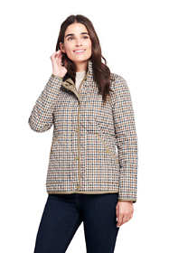 Women's Tall Print Quilted Barn Insulated Jacket