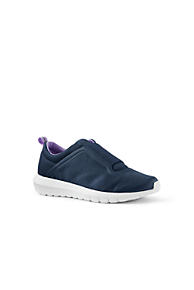 Womens Regular Casual Fabric Slip On Shoes - 8 - BLUE Lands End Discount Enjoy n0CeBtfP