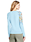 Le Cardigan en Coton Supima Épaule Brodée, Femme Stature Standard