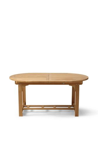 Teak Classic Oval Extension Table