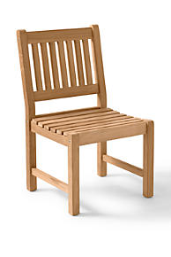 Incroyable Teak Classic Dining Side Chair